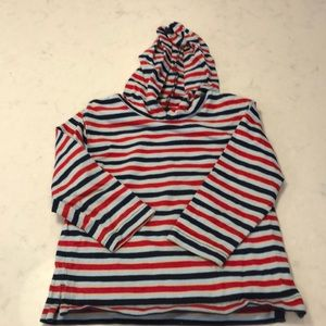 Hanna Andersson Striped Hoodie